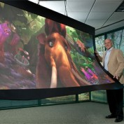 LED display using flexible technology heading to European markets