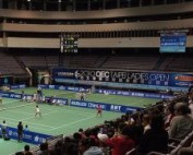 LED boards keep score at 2010 OEC Taipei Ladies Open