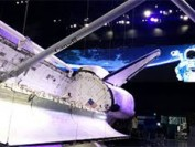 Space shuttle exhibit gets LED display