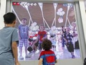 Interactive LED displays entertain passengers at Chinese airport
