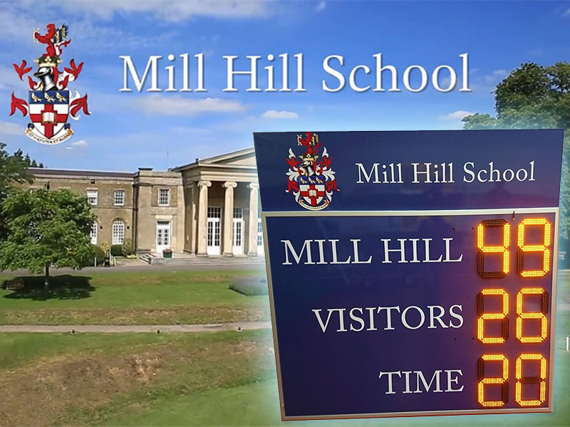 New Scoreboard for Independent London School