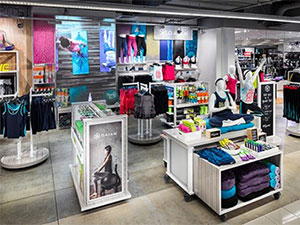 LED screens for yoga company Gaiam in Maceys