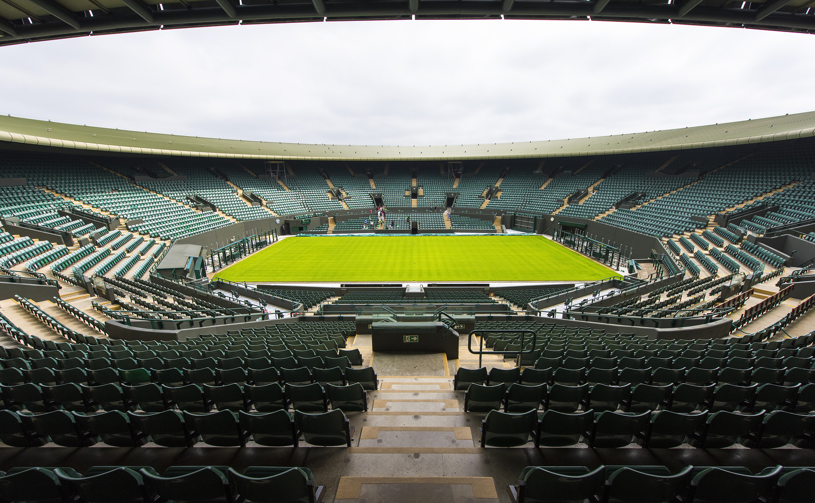 Wimbledon's Centre Court Gets LED Makeover
