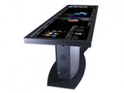 Twin LED displays enable creation of 100 inch touchscreen table