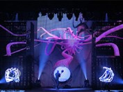 LED displays harnessed by Blue Man Group