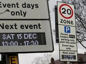New LED based traffic signs around Old Trafford