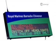 LED Military Signs