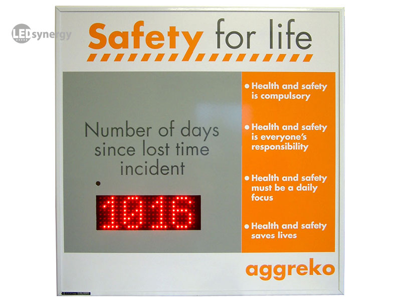 Led Health And Safety Signs Led Synergy