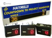 LED Clocks and Counters